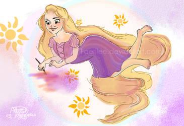 Rapunzel rapunzel by Astirea