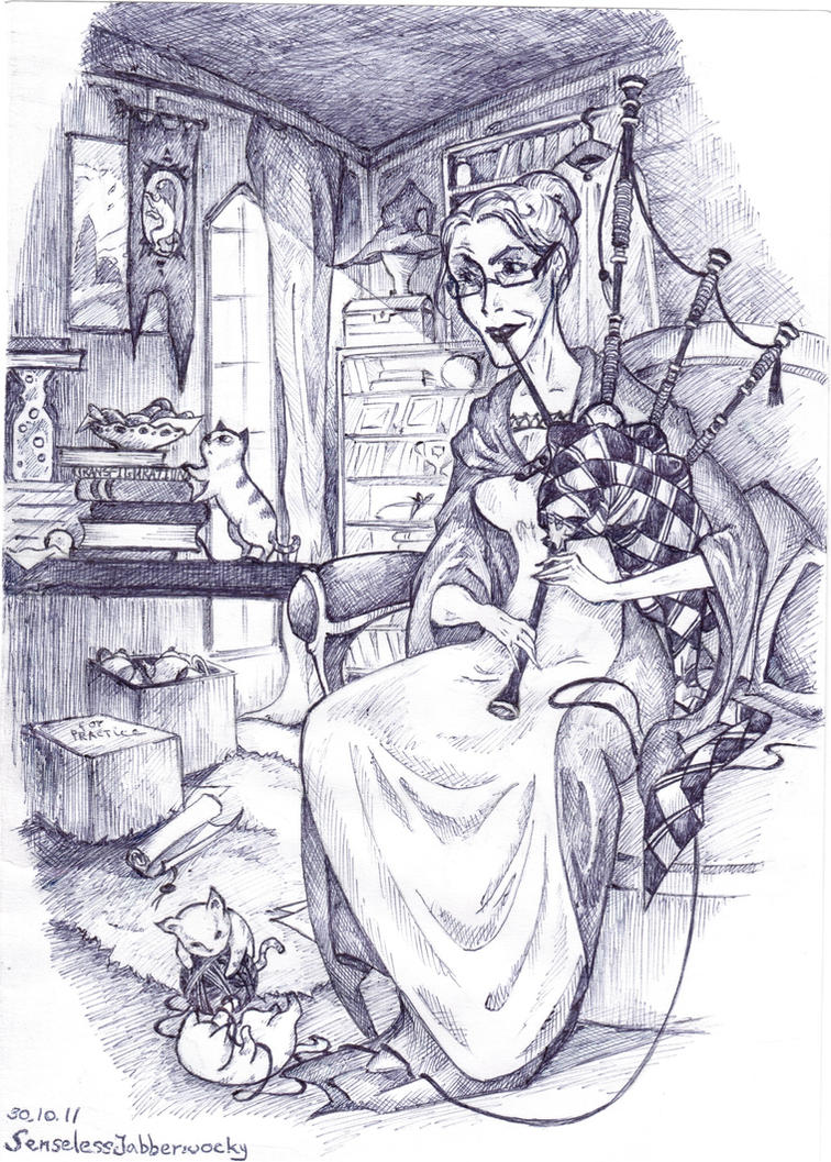 Minerva's Weekend by SenselessJabberwocky