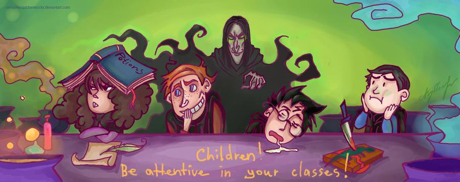 potions lesson by SenselessJabberwocky