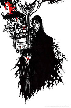 Snape, Potter - vampire version