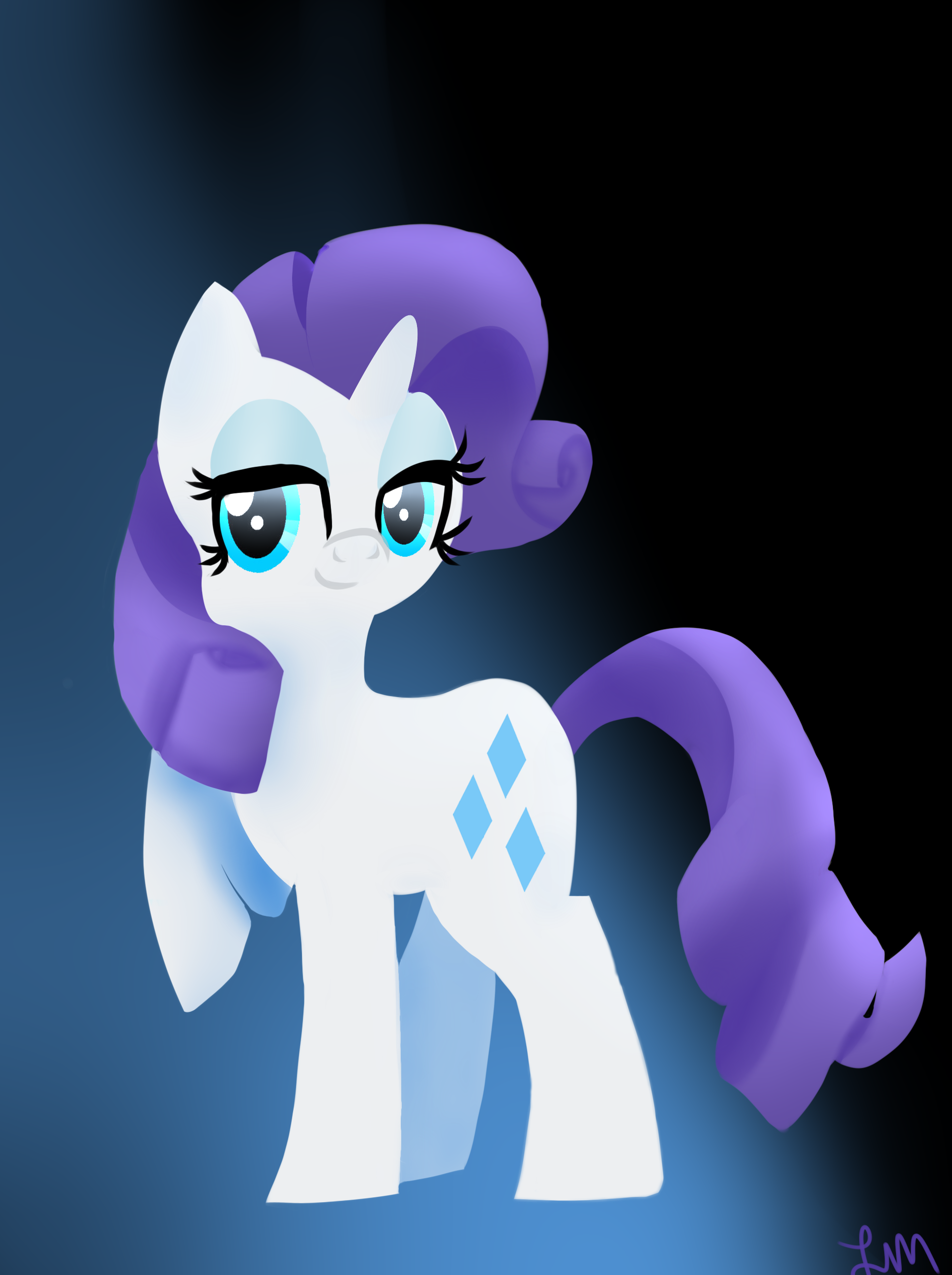 Lady Rarity by SSB09