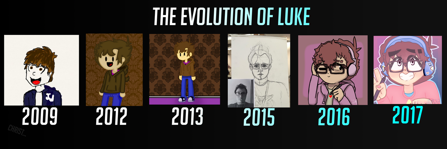 The Evolution of Luke by SSB09