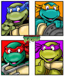 The 4 Turtles