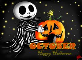 October-Happy Halloween by DK-DarkKitty