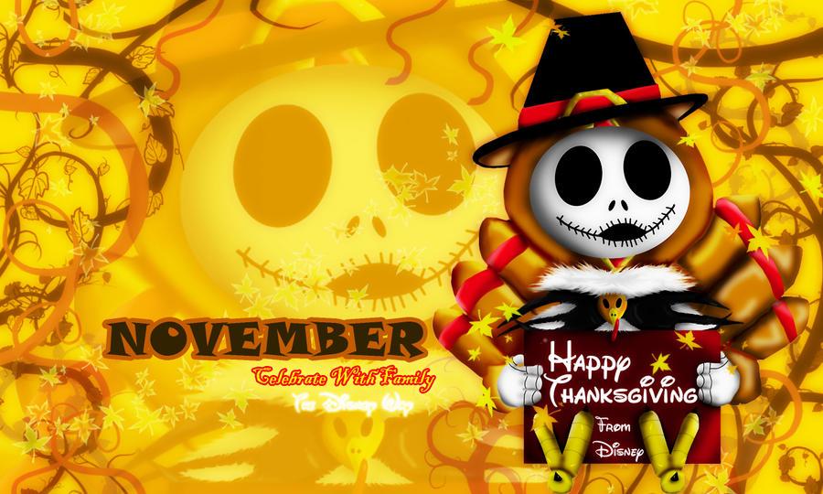 November-Happy Thanksgiving by DK-DarkKitty on DeviantArt