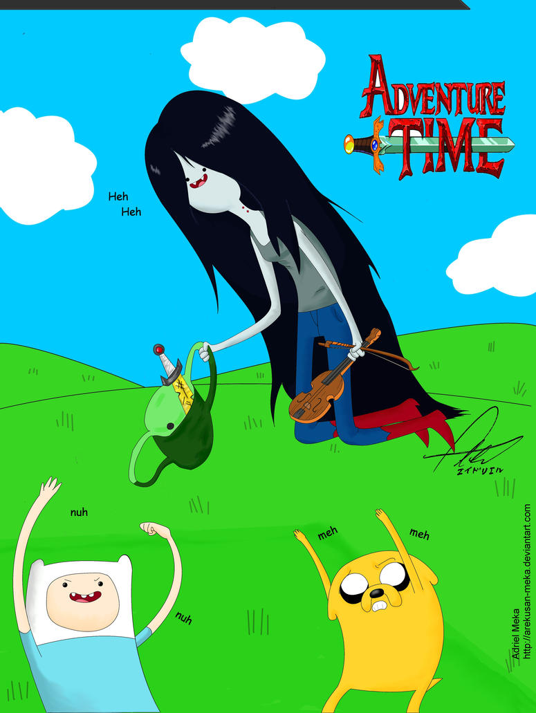 Adventure Time by Arekusan-Meka