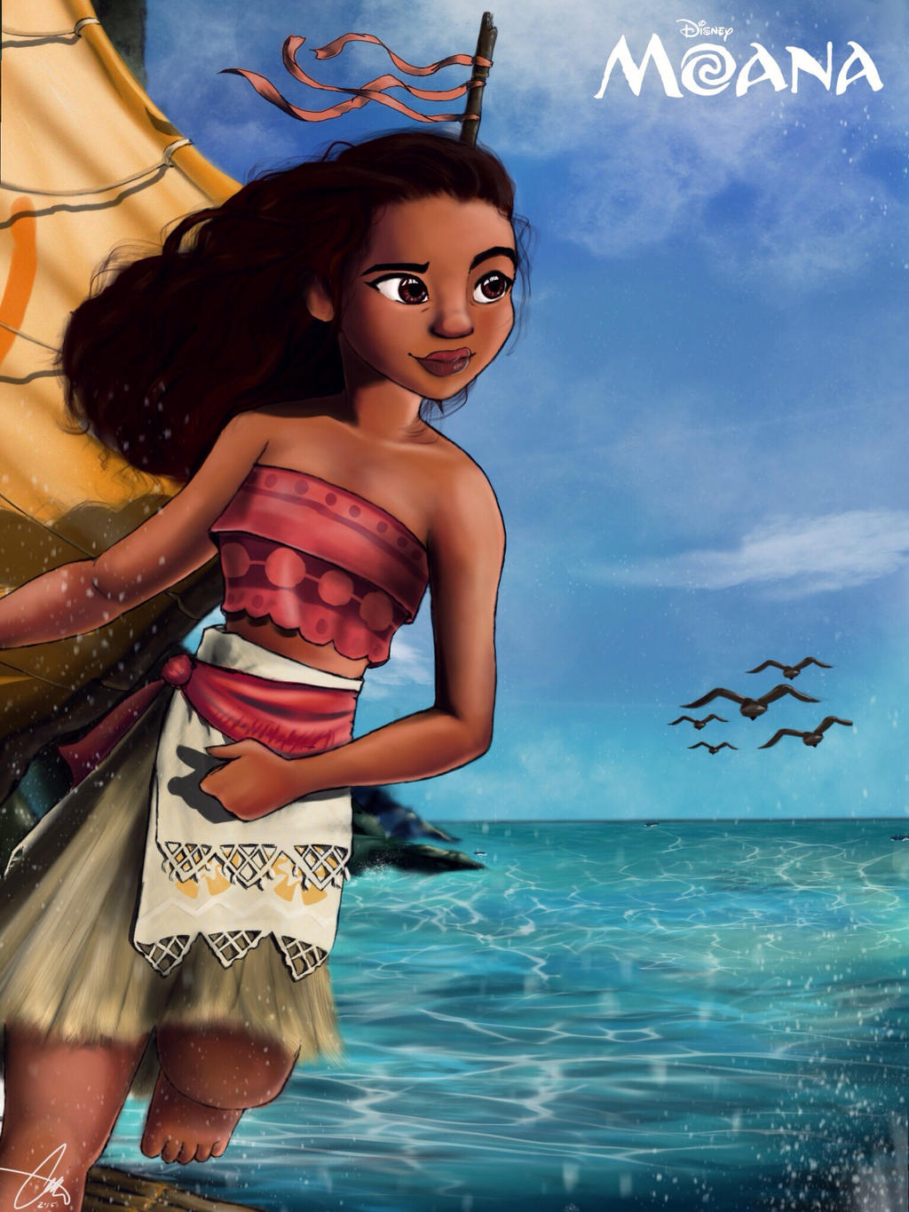 Moana by Arekusan-Meka on DeviantArt