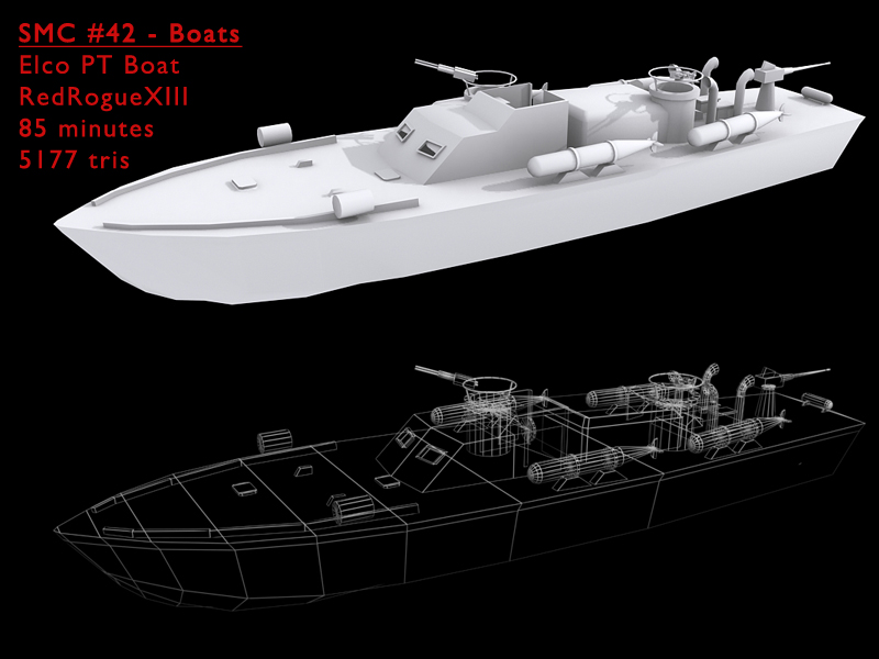 Elco 80 ft PT Boat by redroguexiii on DeviantArt