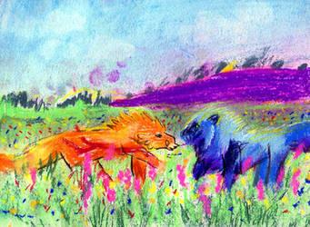 meadow frolic