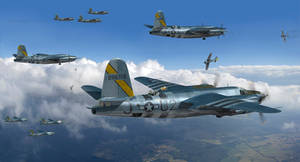 598th Marauding the Skies Over Germany