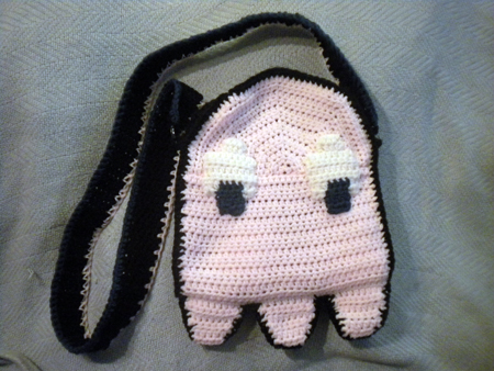 Pac Man Purse side 1 by Astral-thread