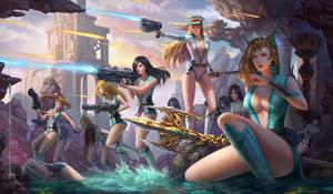 Anon Aquamarines Raid