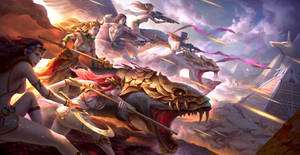 Warrior women of the Anouike Empire