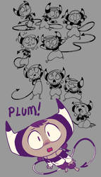 character page - Plum