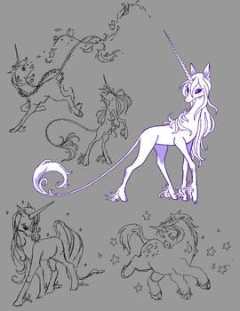 character page - Unicorns