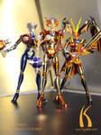 Female Robots of Mazinger