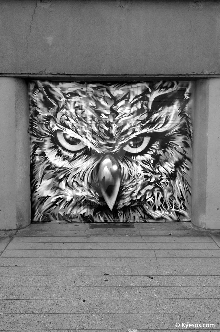 Hibou y boue by kyesos