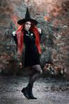 Autumn witch.