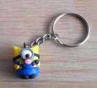 Cute polymerclay Piglet minion keychain! by kawaiicharms99