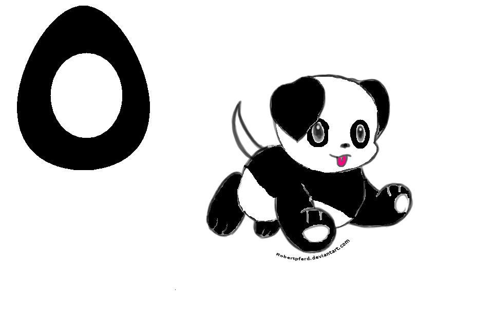 Fall's Birthday (Panda Dog) by SpringANDFall