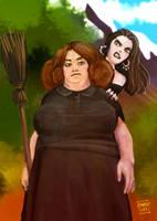 Fan Art: Agnes Nitt, Discworld by Murklins