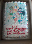 My 21st Birthday Cake - Sailor Moon