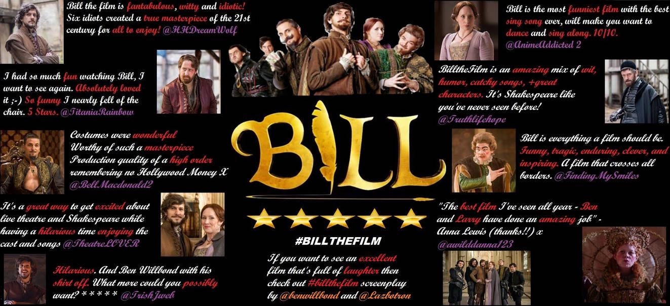 Bill the film fan review poster by Londonexpofan on DeviantArt