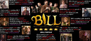Bill the film fan review poster