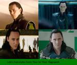 Loki's Hairstyles