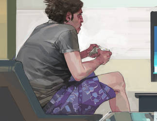 Gamer by shanyar