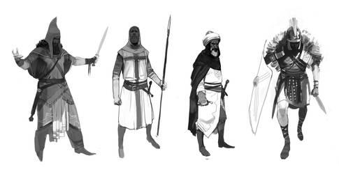 warriors by shanyar