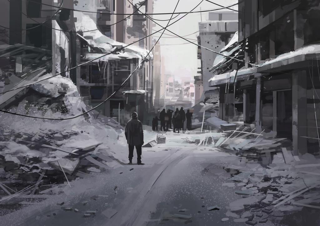 winter by shanyar