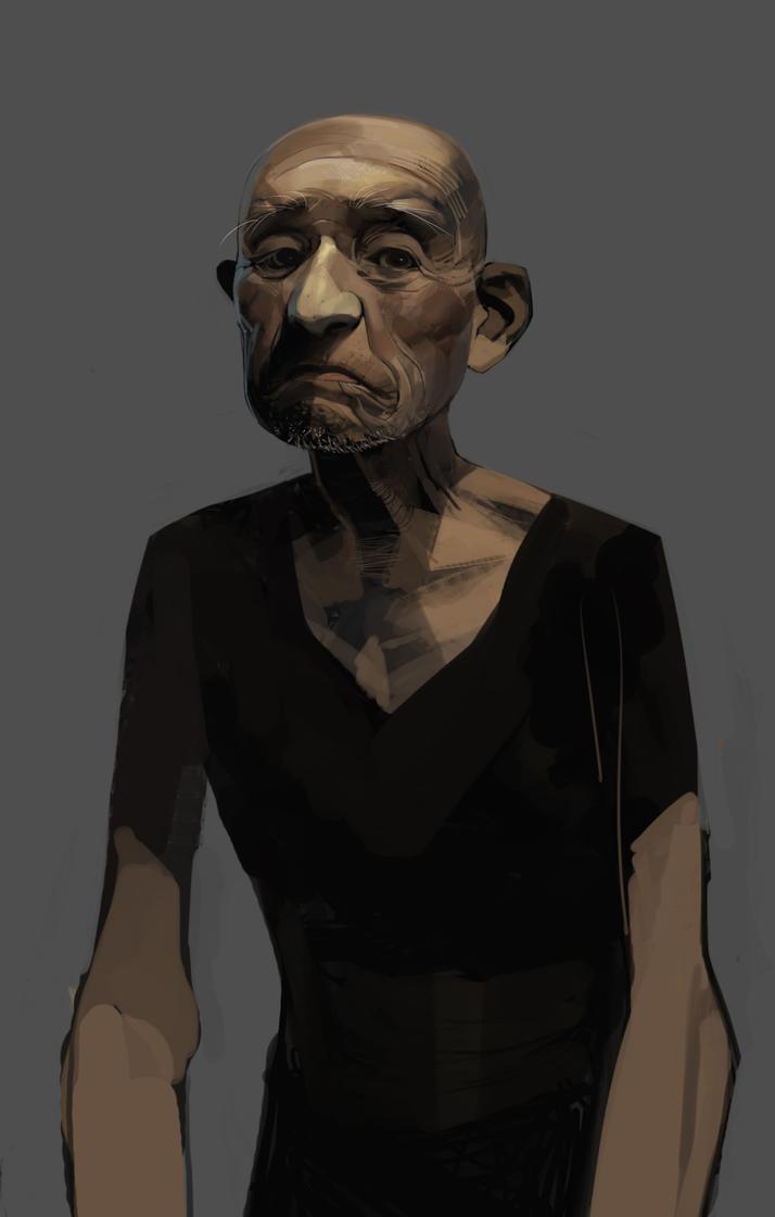 old-man by shanyar