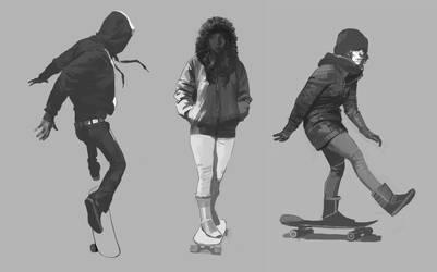 skate by shanyar