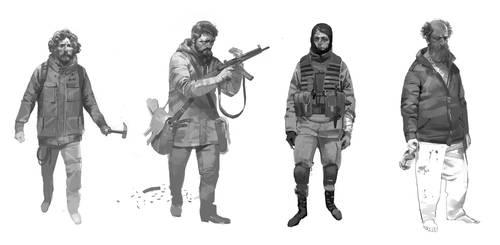 survivors by shanyar