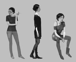 Girls by shanyar