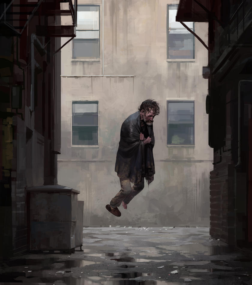 alley by shanyar