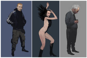 characters by shanyar