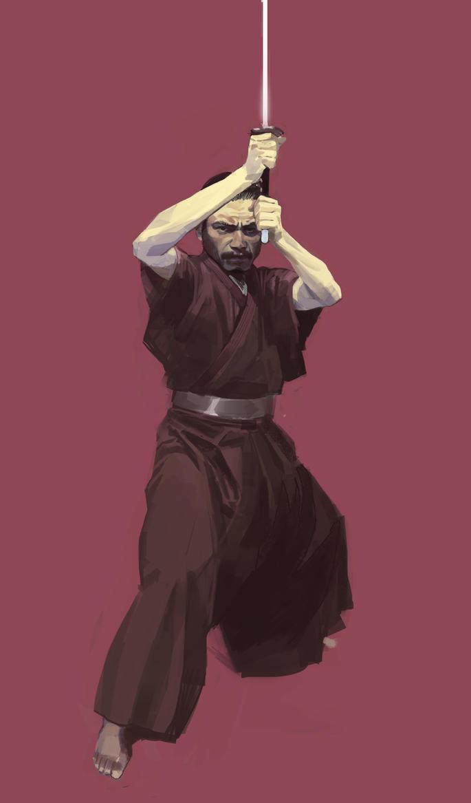 samurai by shanyar