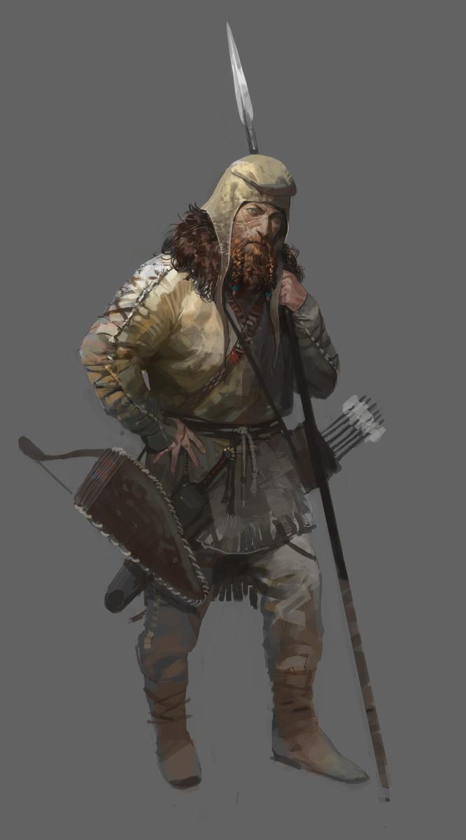 Scythian soldier by shanyar