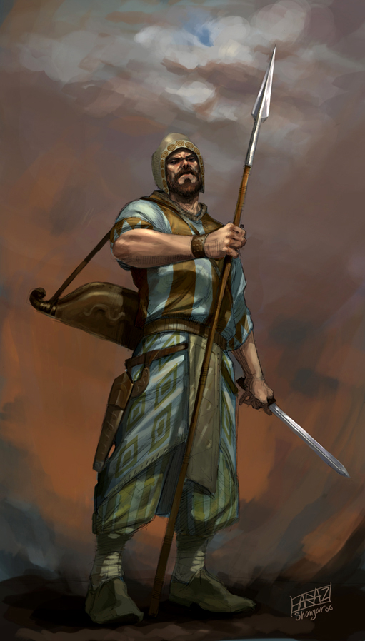 ancient iranian soldier II