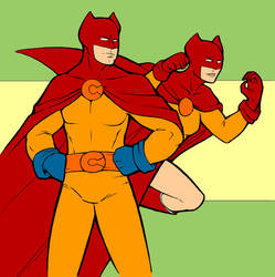 Catman and Kitten by Travis Perkins by redskindavyd