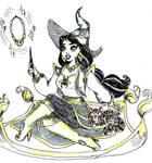 Witchtober 03 - Jasmine by harishasart