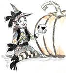 Witchtober 04 - Sally by harishasart