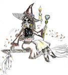 Witchtober 06 - Elena by harishasart