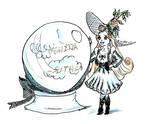 Witchtober 08 - Thumbelina by harishasart