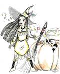 Witchtober 11 - Pocahontas by harishasart