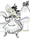 Witchtober 13 - Alice by harishasart