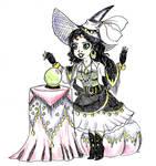 Witchtober 18 - Esmeralda by harishasart