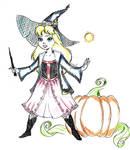 Witchtober 26 - Eilonwy by harishasart